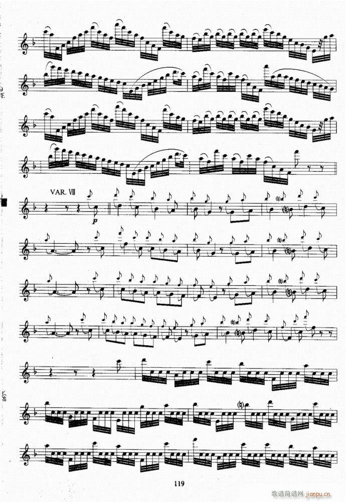 长笛考级教程101-140(笛箫谱)19