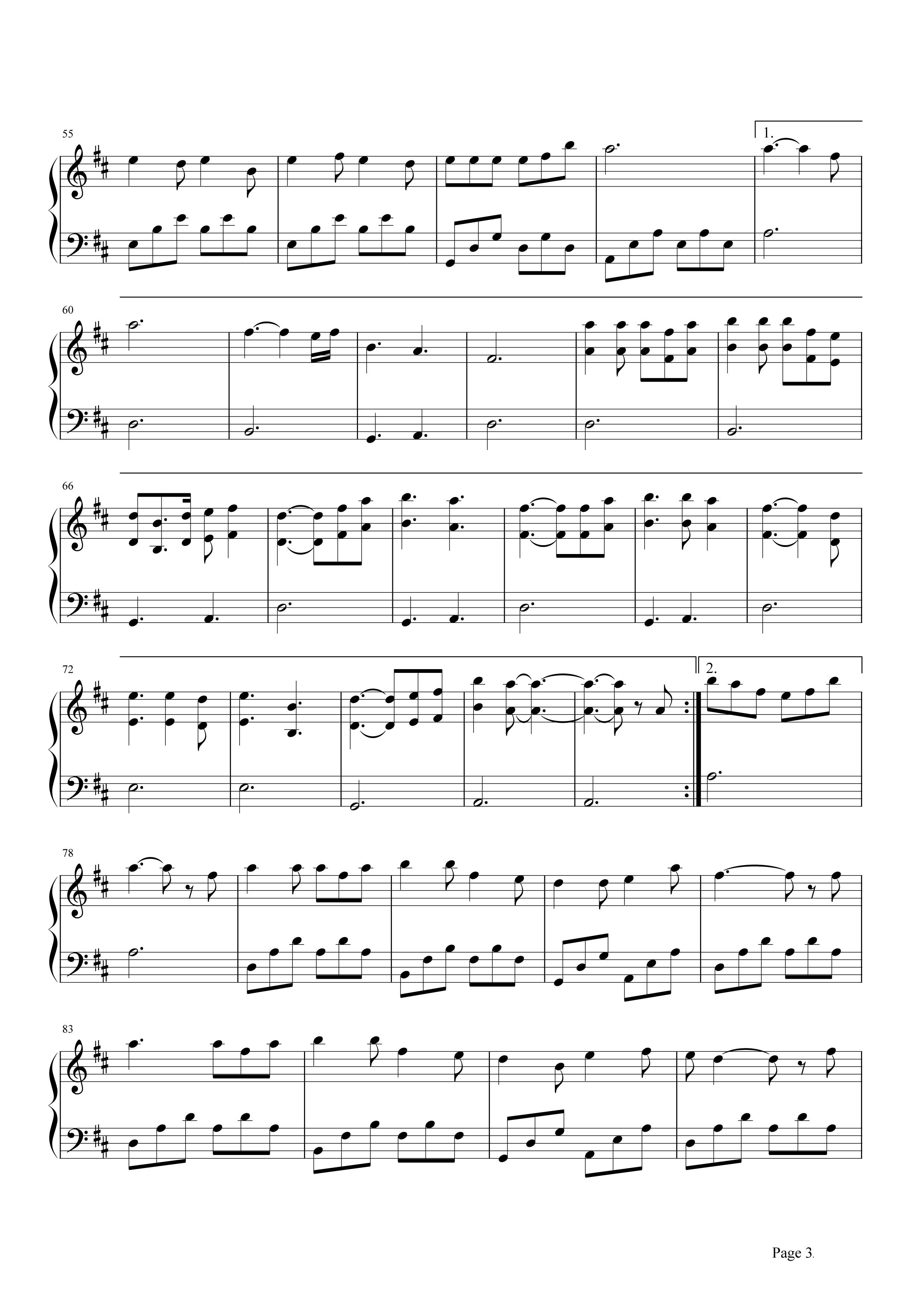 成都钢琴谱