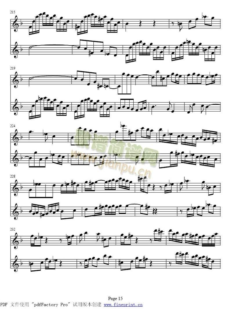 d小调两支小提琴协奏曲15-22(其他)1