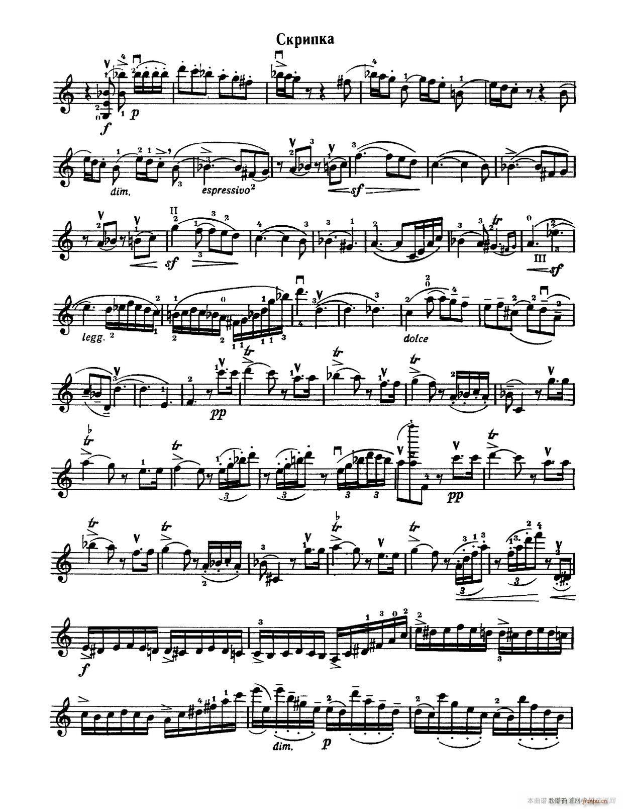 引子与回响(小提琴谱)6