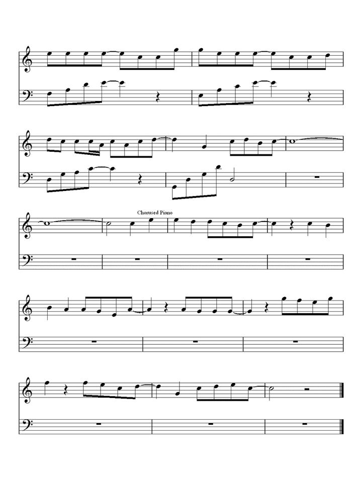 回到过去钢琴谱