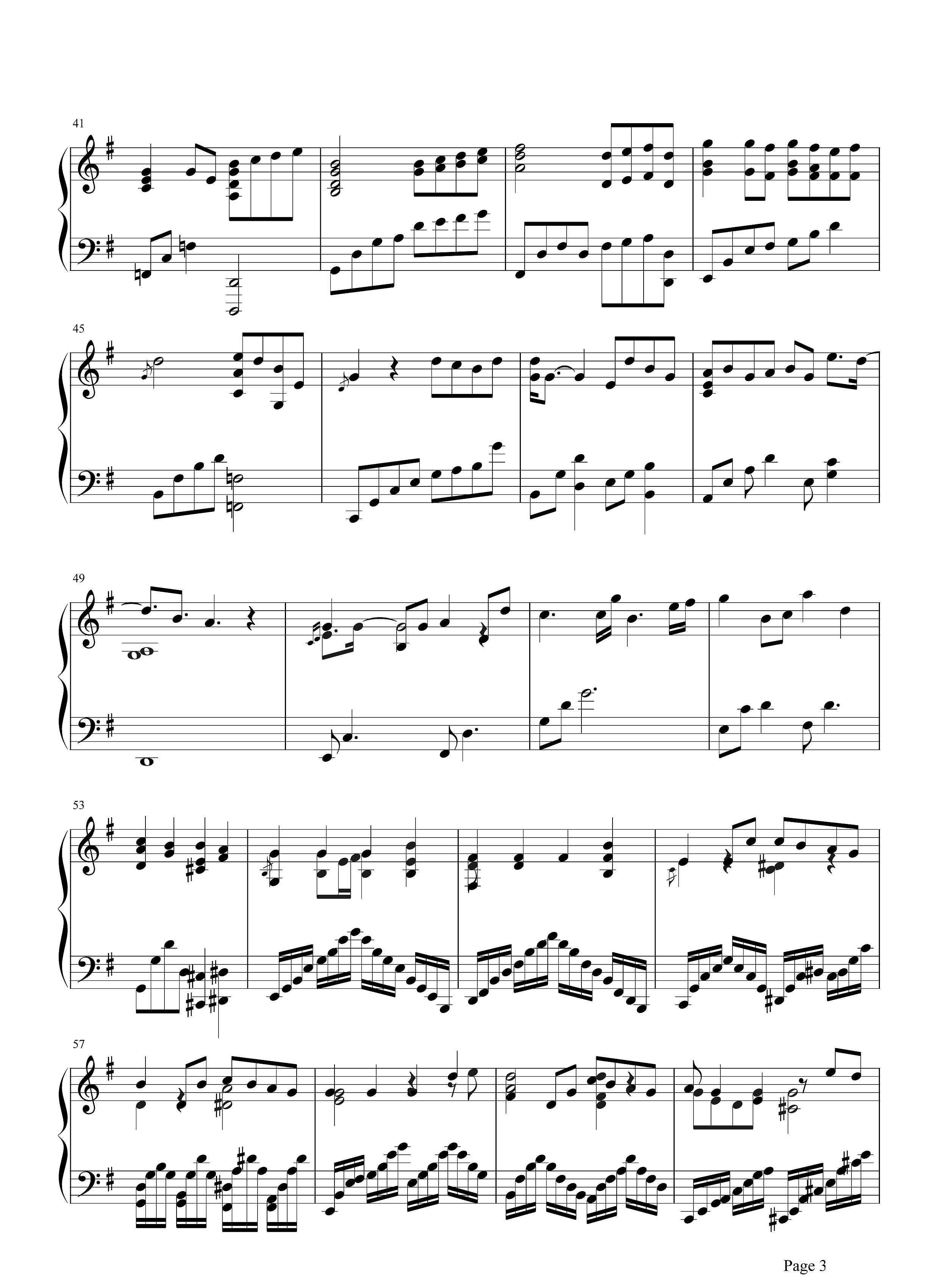 你给我听好钢琴谱