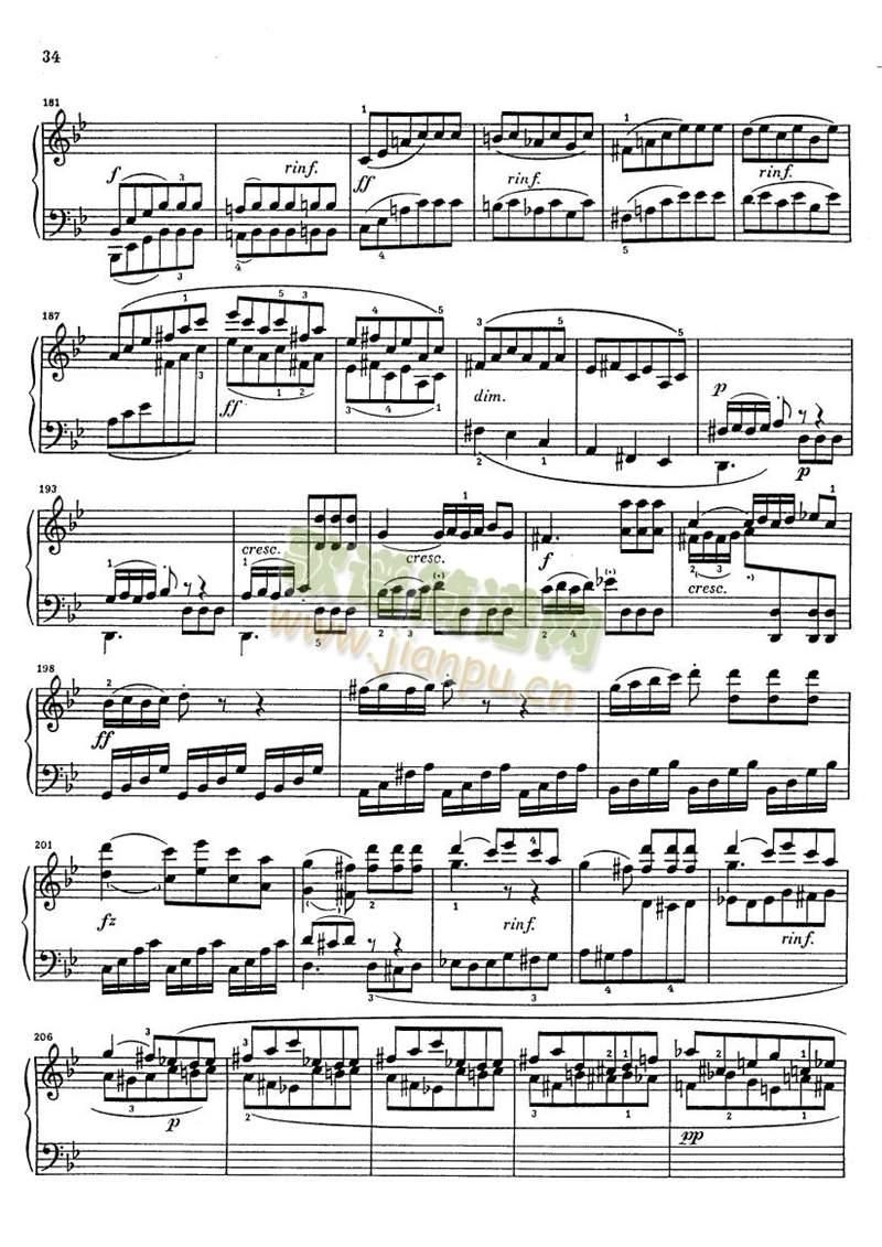 克莱门蒂g小调钢琴奏鸣曲1-9(其他)8