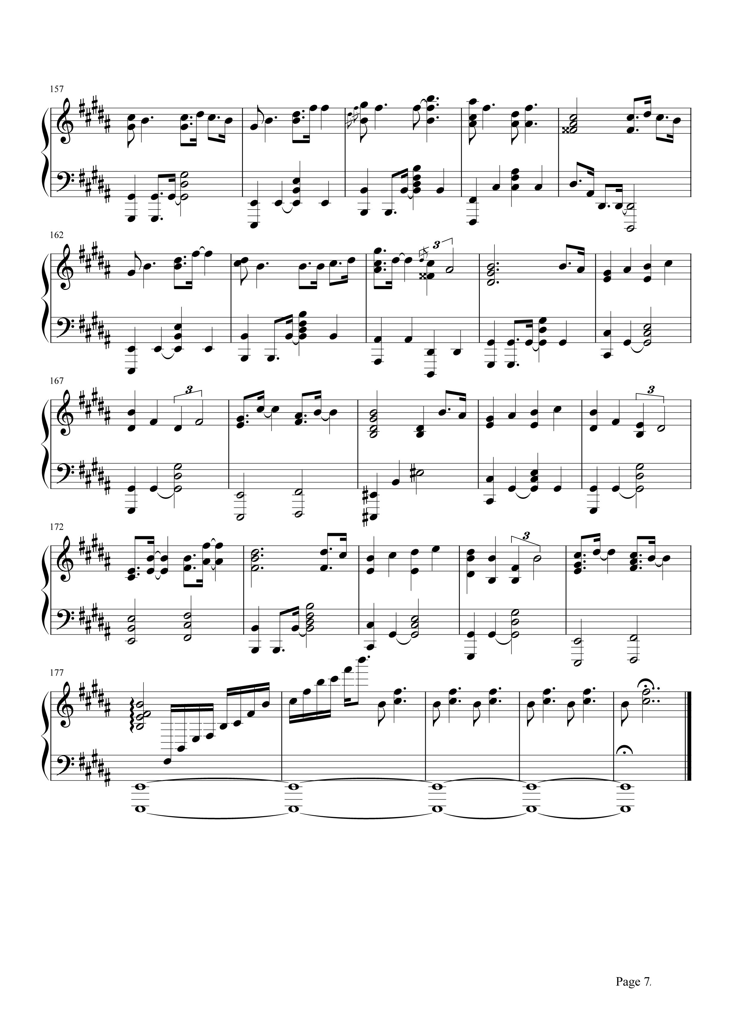 lemon(日剧)钢琴谱
