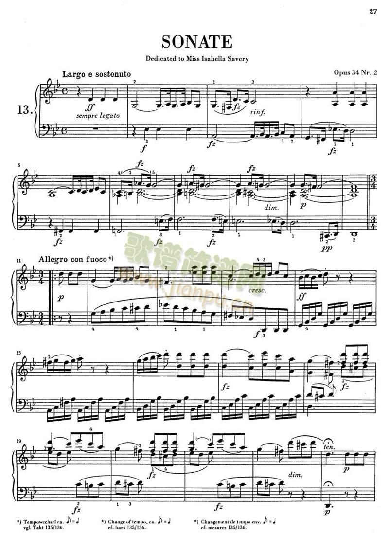 克莱门蒂g小调钢琴奏鸣曲1-9(其他)1