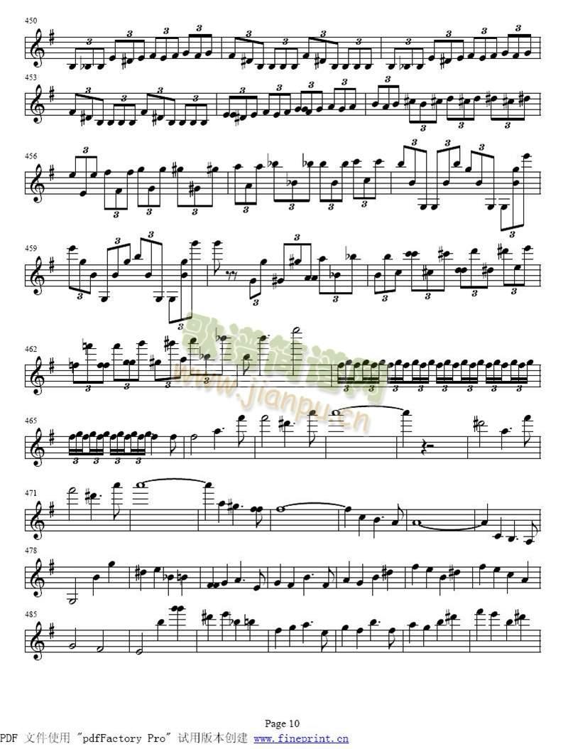 贝多芬e小调小提琴协奏曲6-11(其他)5