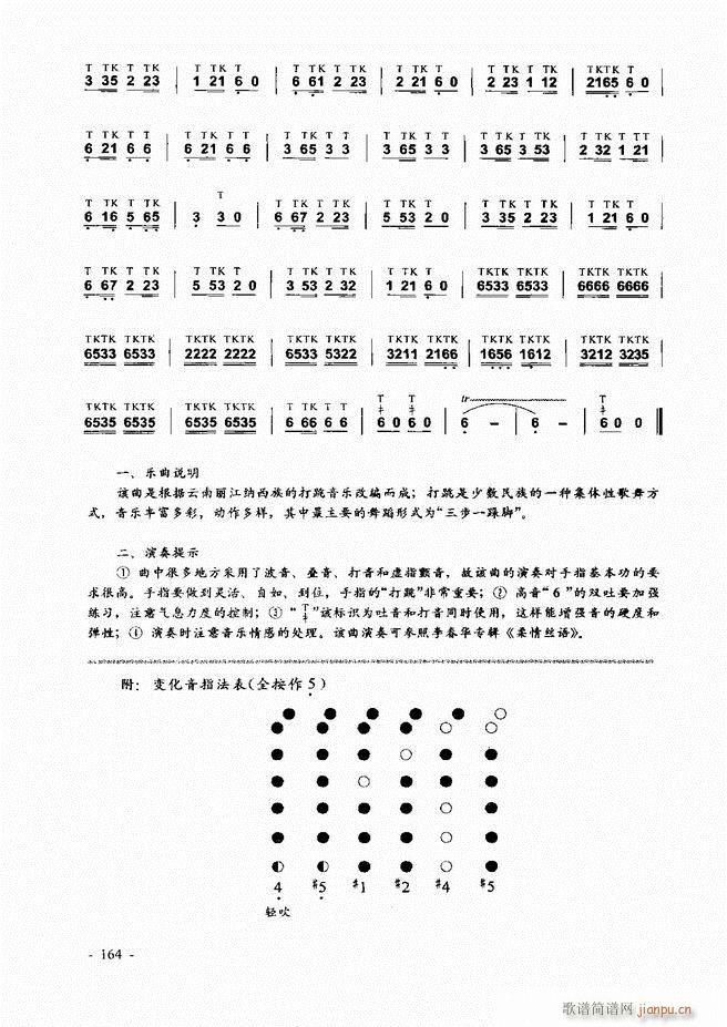 葫芦丝 巴乌实用教程121 180(葫芦丝谱)44