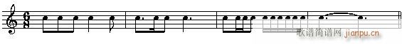 音乐高考必读—乐理应考速成 第四章有关的节拍的试题(十字及以上)8
