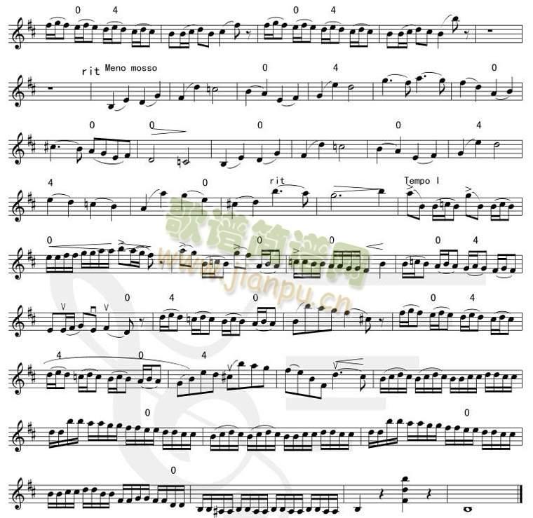 bB小调协奏曲-第三乐章 2