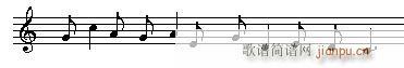 音乐高考必读—乐理应考速成 第四章有关的节拍的试题(十字及以上)9