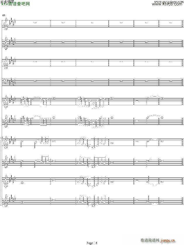 双童声协奏曲Concerto Pour Deux Voix 合唱版 Ab调(合唱谱)14